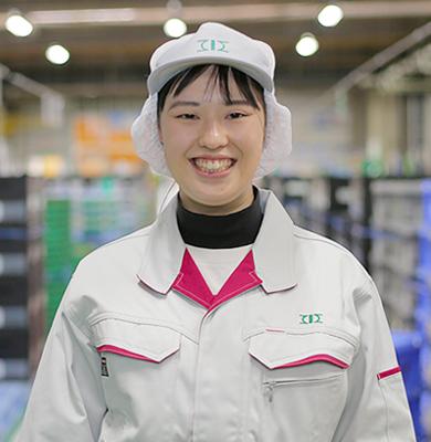 上川製造部 生産管理 加藤 真帆